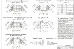 6 схема расположения плит перекрытия на отм. 0,000