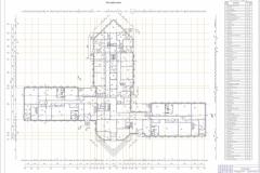 Лист №4 (план первого этажа)