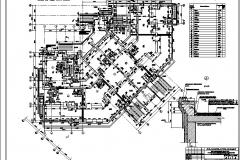 3 План 1-го этажа, узел