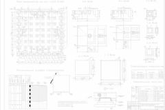 План фундаментов,сетки....Лист 9.-Model