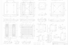ЖБК,планы плит П-2,3...схема армир....Лист 6-Model